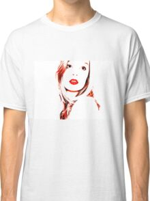 Girl in Red Classic T-Shirt