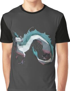 Haku (Dragon) - Spirited Away Graphic T-Shirt