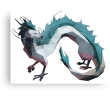 Haku (Dragon) - Spirited Away Canvas Print