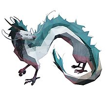 Haku (Dragon) - Spirited Away Photographic Print