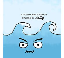 Ocean personality Photographic Print