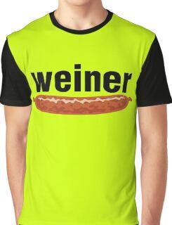 weiner (w. sausage) Graphic T-Shirt