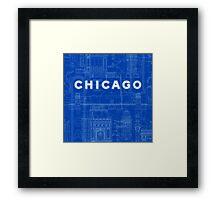 Chicago Icons Framed Print