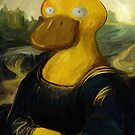 mona psyduck painting by stevontoast