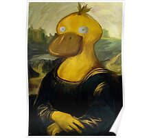 mona psyduck painting Poster