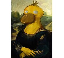 mona psyduck painting Photographic Print