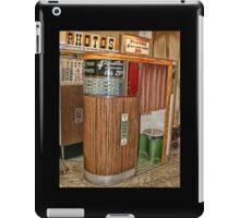 Vintage Photobooths iPad Case/Skin