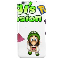 Luigi's Pokemon Mansion iPhone Case/Skin