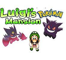 Luigi's Pokemon Mansion Photographic Print
