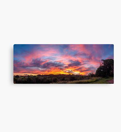 Federal Sunset Canvas Print