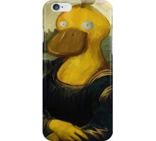 mona psyduck painting iPhone Case/Skin