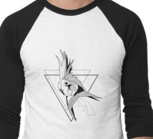 Thin Cockatiel Men's Baseball ¾ T-Shirt