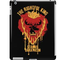 Stannis Baratheon Shirt Game of Thrones iPad Case/Skin