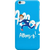 Allons-y! (full colour) iPhone Case/Skin