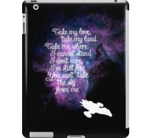 Firefly theme (The Ballad of Serenity) iPad Case/Skin