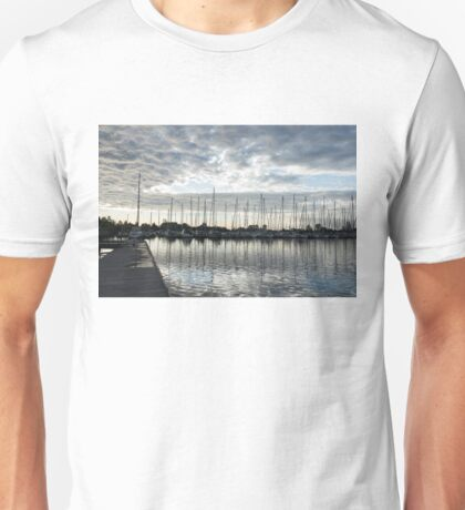 Silvery Grays and Blues -  Unisex T-Shirt