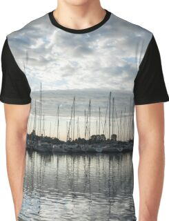 Silvery Grays and Blues -  Graphic T-Shirt