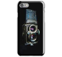 Rolleiflex 75 mm CZ Planar f/3.5 iPhone Case/Skin