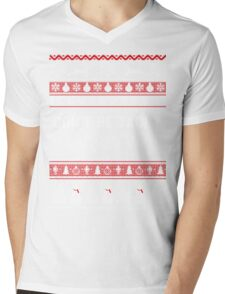 Don't Be Tachy - Nurse Ugly Christmas Sweater Mens V-Neck T-Shirt