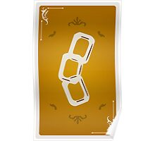 Gold Card Poster