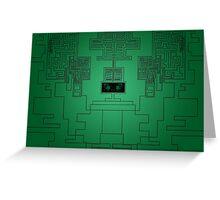 Digital Matrix Color Greeting Card