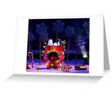 CHARLIE BROWN SNOOPY CHRISTMAS 8 DYK Greeting Card