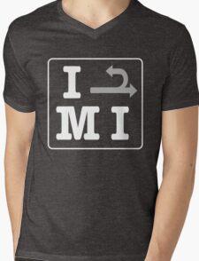 Michigan Left Mens V-Neck T-Shirt