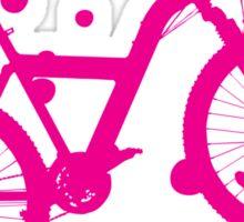 Honey, Clover and Bike Sticker