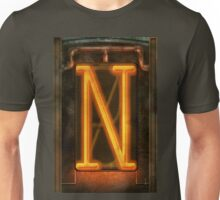 Steampunk - Alphabet - N is for Nixie Tube Unisex T-Shirt