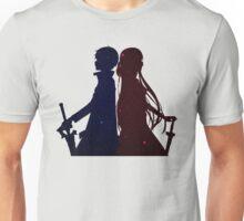 Kirito Asuna Space Anime Manga Shirt Unisex T-Shirt