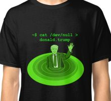 cat /dev/null Donald Trump Classic T-Shirt