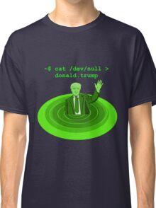 cat /dev/null Donald Trump Classic T-Shirt