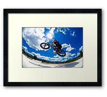 Cross bar Framed Print
