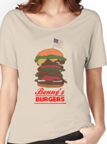 Benny's Burger Women's Relaxed Fit T-Shirt