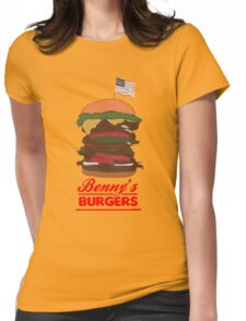 Benny's Burger Womens Fitted T-Shirt