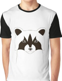 Cute raccoon face Graphic T-Shirt