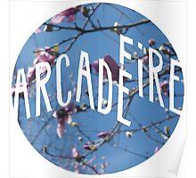 Arcade Fire/Tulip Magnolia Poster