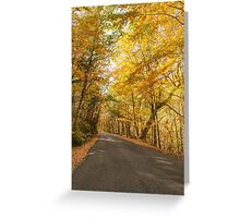 Autumn, Geres, Portugal Greeting Card