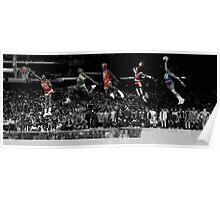 NBA oldskool dunks Poster
