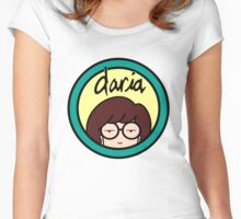 Daria Logo Women's Fitted Scoop T-Shirt