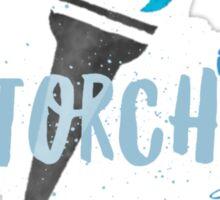 helene torch 2 Sticker
