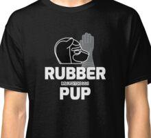 Nerdy Doggo Rubber Pup Classic T-Shirt