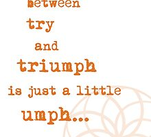triumph by lalalisa