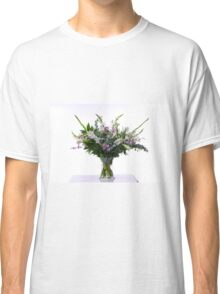 flower bouquet On white background  Classic T-Shirt