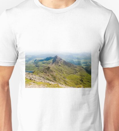 View from Snowdonia, Wales. Unisex T-Shirt