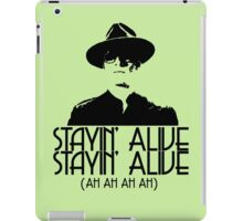 Erik is Stayin' Alive. Stayin' Alive. iPad Case/Skin