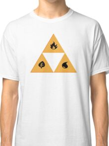 Triforce pokemon types Classic T-Shirt