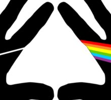 Dark side hands Sticker