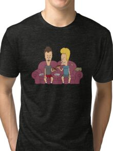Beavis & Butthead sofa Tri-blend T-Shirt