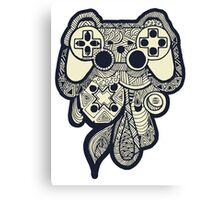 Games Console Canvas Print
